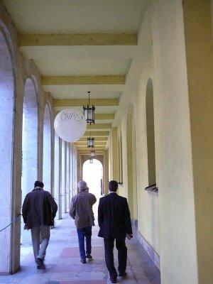 Kiküldött tudózsidónk jelenti a zsidónegyed csodálatos megmeneküléséről