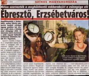 Szól a kakas még: Volt egyszer egy Sófár flashmob Budapesten